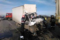 Grav accident de circulaţie pe raza comunei Săbăoani, pe E85