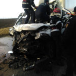 Accident TRAIAN Sabaoani E85