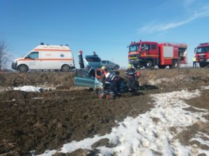 Accident rutier Horia Neamt
