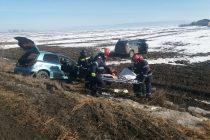Accident rutier foarte grav în localitatea Horia, cu 3 victime. O persoană a decedat.