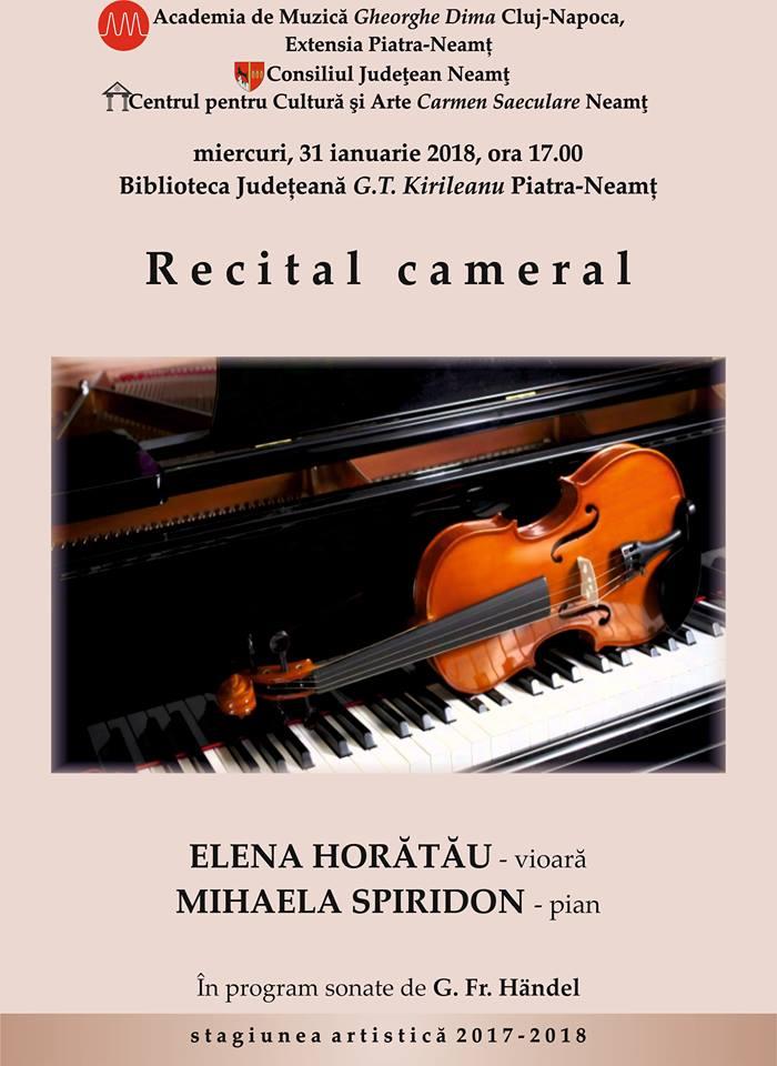 Afis Recital cameral