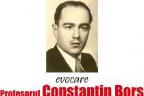 """Evocarea profesorului Constantin Borș la Biblioteca Județeană """"G. T. Kirileanu"""""""