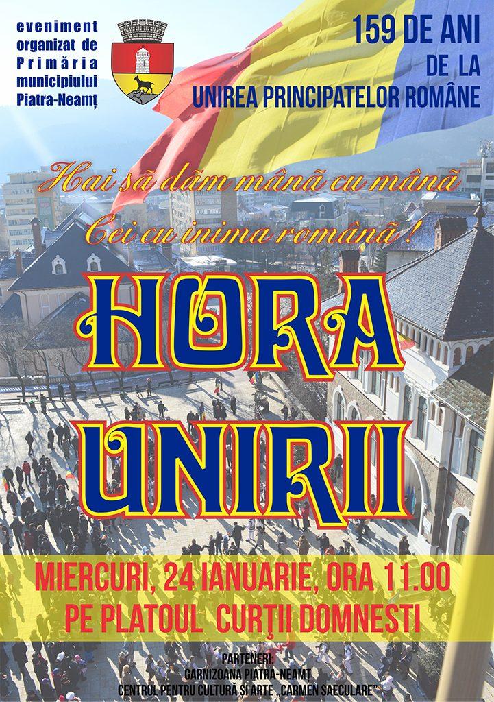 Hora Unirii la Piatra Neamt 2018