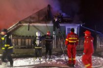 Incendiu produs de un scurtcircuit la o locuinţă din Boţeşti, comuna Girov