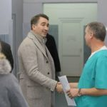 Ionel Arsene la Spitalul Judetean