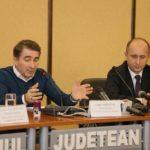 Ionel Arsene si ministrul Adrian Gadea