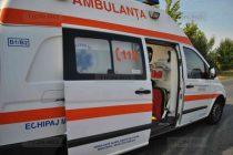 Un autoturism s-a răsturnat într-un șanț lângă Săbăoani, o femeie a fost rănită
