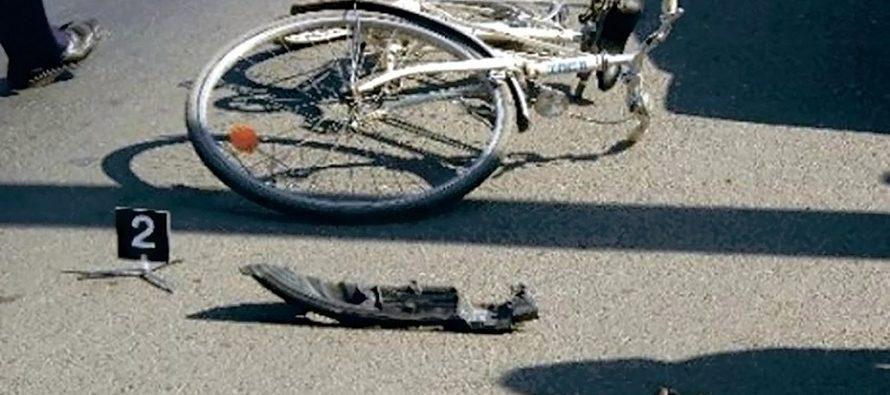 Un biciclist și-a pierdut viața într-un accident rutier, în comuna Brusturi