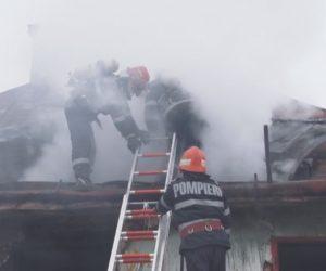 Alt incendiu de sezon, provocat de un coș de fum. Pompierii fac recomandări populației.