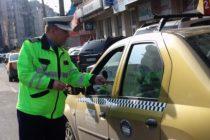 Acțiune pentru combaterea ilegalităților în rândul taximetriștilor, la Roman