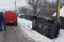 Accident rutier la Podoleni, o femeie accidentată uşor
