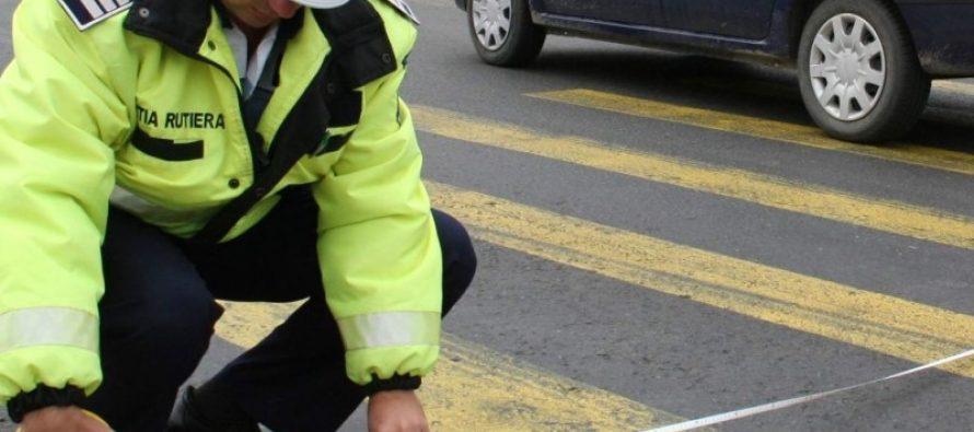 O fată de 14 ani a fost accidentată pe trecerea de pietoni, în orașul Tg. Neamț