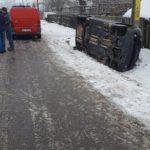 Accident rutier Podoleni