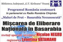 """O nouă ediție """"Maluri de Prut – Basarabia necunoscută"""", în prezența secretarului de stat Veaceslav Șaramet"""
