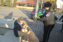 Acţiuni ale poliţiştilor locali pentru combaterea cerşetoriei