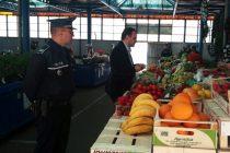 Amenzi de 15.215 lei aplicate de poliţişti la târgul săptămânal de la Tg. Neamţ