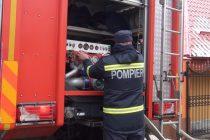 Un cetățean din Piatra Neamț și-a dat foc la locuință