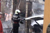 Incendiu extins de la o magazie de lemne, în com. Alexandru cel Bun