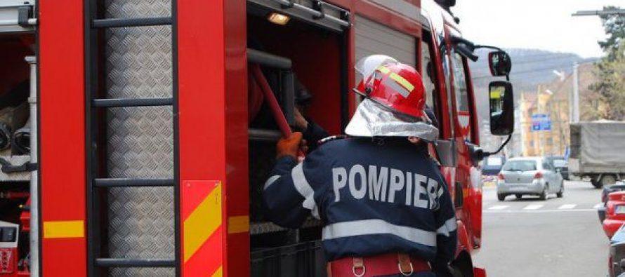 Un apartament din Tg. Neamț a luat foc din cauza unui aparat electrocasnic