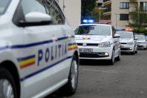 Prins de poliţişti la scurt timp după ce a produs un accident