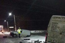 Accident de circulaţie cu 4 maşini implicate, în comuna Girov