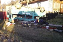 Accident rutier la Pipirig. O victimă a decedat la spital.