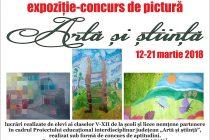 """""""Artă și știință"""", expoziție-concurs la Biblioteca Județeană G. T. Kirileanu"""