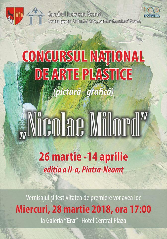 Concurs arte plastice Nicolae Milord ed 2