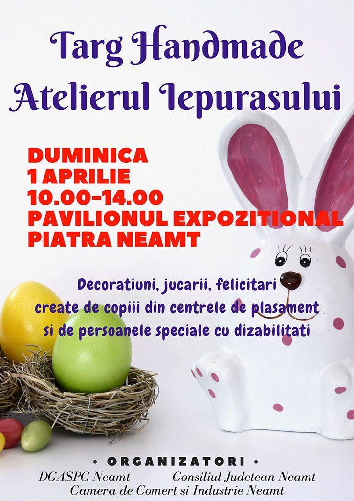 INVITATIE DGASPC Targ Iepuras