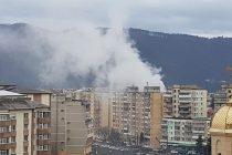 Incendiu puternic la un apartament pe b-dul Dacia, în mun. Piatra Neamţ