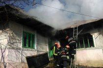 Incendiu la o locuinţă din comuna Bahna