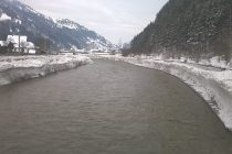 Monitorizarea fenomenului de zăpor pe râul Bistriţa