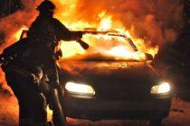 Reţinut de poliţişti după ce a incendiat un autoturism