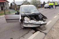 Accident rutier în localitatea Horia. O victimă a fost transportată la spital.