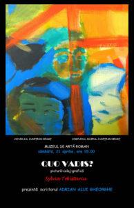 Afis expozitie Quo Vadis