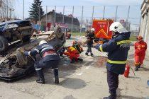 Competiţia de descarcerare şi prim ajutor calificat la ISU Neamţ
