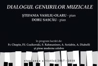 """""""Dialogul genurilor muzicale"""", un nou recital la Piatra Neamţ"""