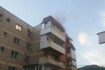 Incendiu la un apartament din cartierul Precista, mun. Piatra Neamţ