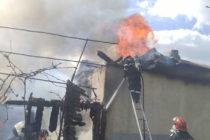 Incendiu provocat de un scurtcircuit la o locuință din Piatra Șoimului