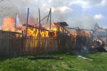 Incendiu puternic la o locuinţă din Făurei