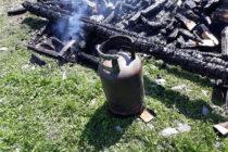 Incendiu provocat de o butelie la o casă din Piatra Neamț