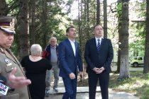 Ministrul Apărării, Mihai Fifor, în vizită oficială la Sanatoriul de la Bălțătești