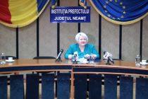 Raport de activitate al prefectului de Neamţ, Daniela Soroceanu