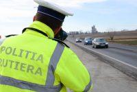500 de amenzi aplicate de polițiștii rutieri, aproape 200 pentru depășirea limitei de viteză
