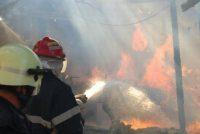 500 kg de fân au ars într-un incendiu, în comuna Borlești