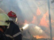 Incendiu de vegetație întins pe 10 hectare la Izvorul Muntelui