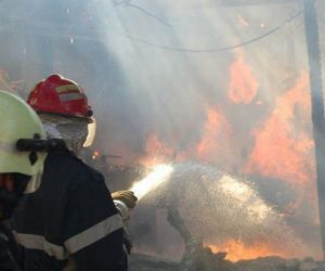8 tone de furaje au ars într-un incendiu la o anexă gospodărească din localitatea Ghindăoani