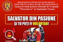 """ISU Neamţ se implică în """"Săptămâna Naţională a Voluntariatului"""""""