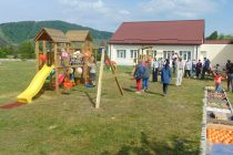 """Un nou spaţiu de joacă pentru copiii de la Centrul """"Sancta Maria"""""""