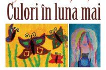 """Expoziţia """"Culori în luna mai"""" la Biblioteca Judeţeană"""